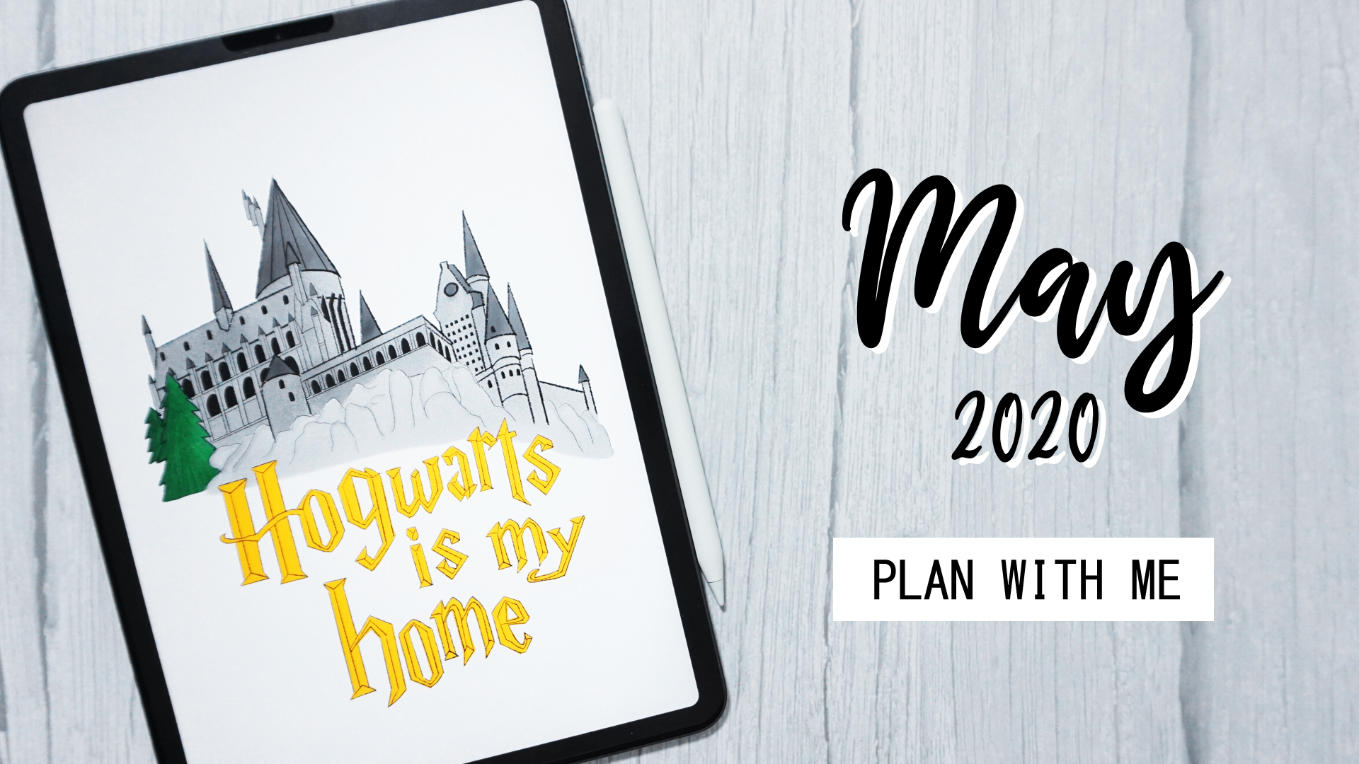 Plan with Me : May 2020 + Digital Download