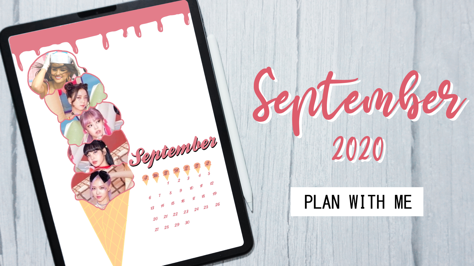 Plan with Me : September 2020 + Digital Download